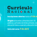 Curso virtual sobre Currículo Nacional